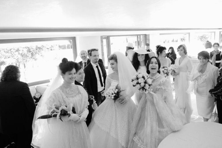 YES WEDDING ITALY BRIDE DRESS