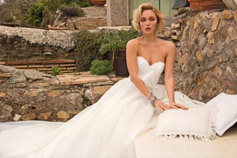 YES WEDDING ITALY BRIDE DRESS 2021 TOP GONNA