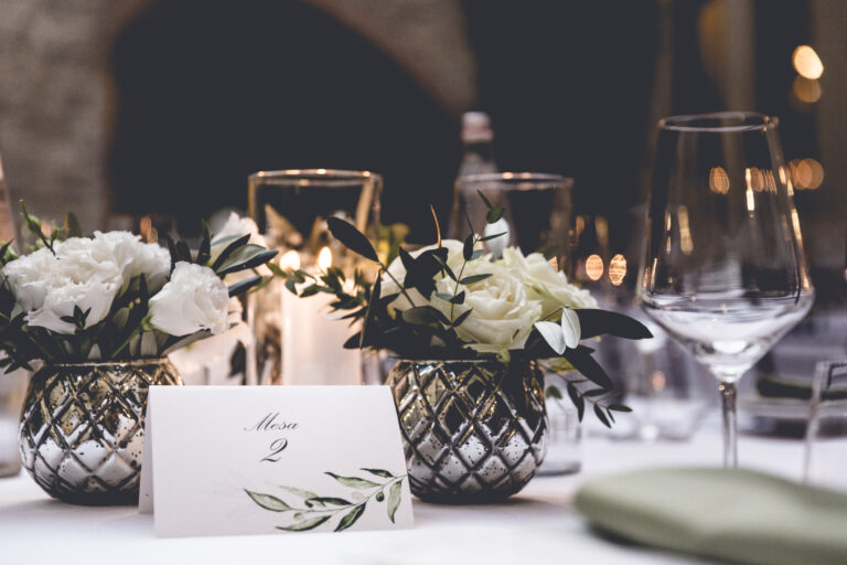 YES WEDDING ITALY CENTERPIECES