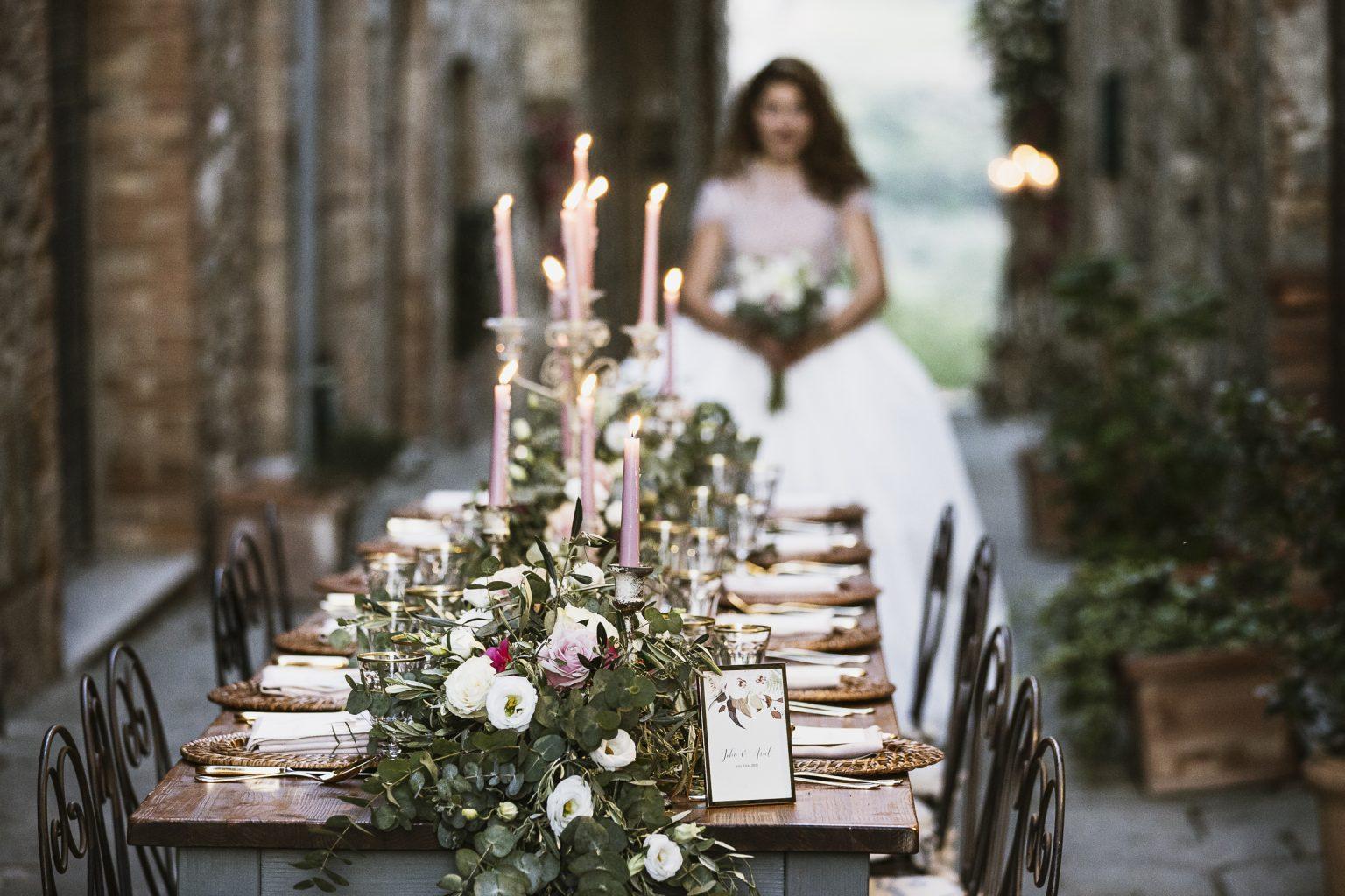 Yes Wedding Allestimento_Castelnuovo dell Abate